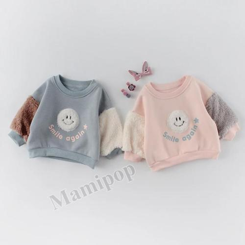 Winter Baby Dress Two Girl and Girl Smile Suit Top Pants Suit