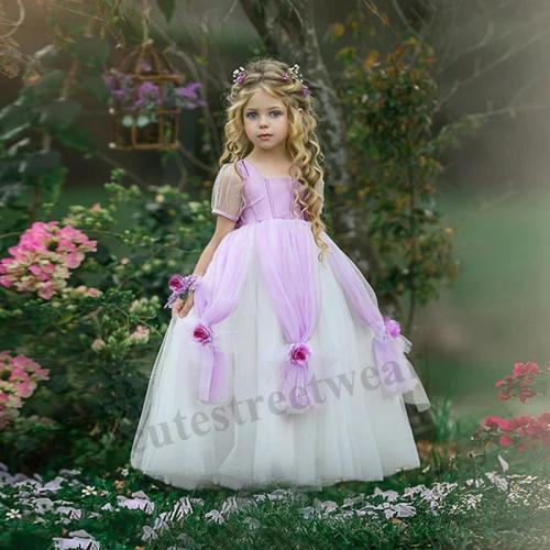 2020 new costumes girls princess dressSofia little girl birthday dress dress