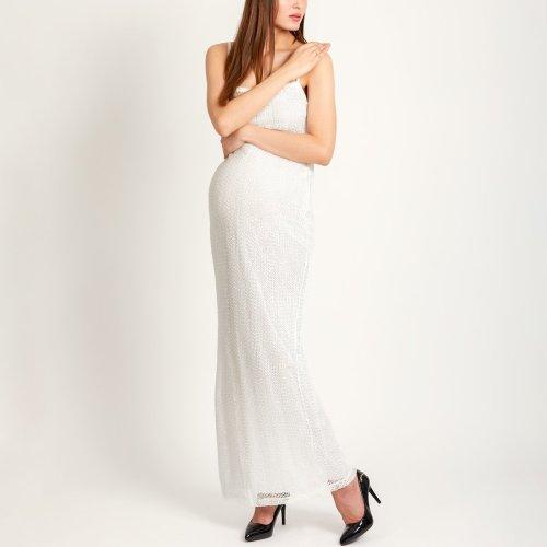 Maternity Suspenders Sleeveless Evening Dress