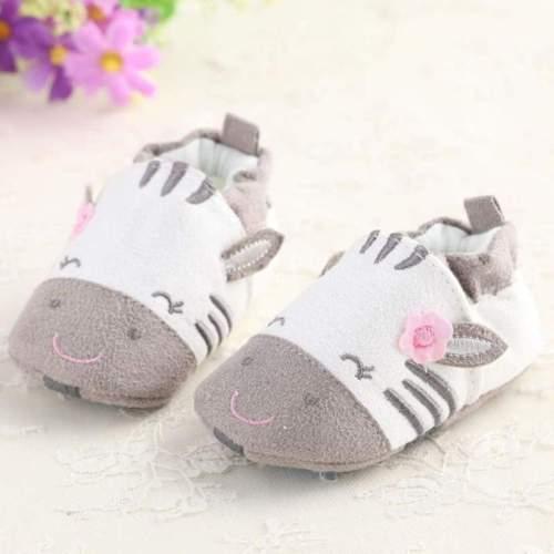 Cartoon Cute Newborn Baby First Walker Soft Shoes