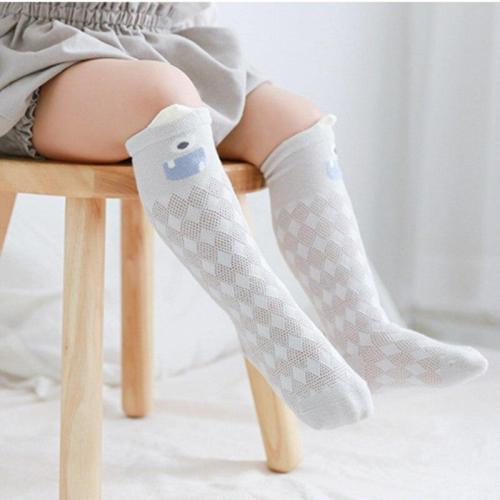 Baby Girl Cute Socks Candy Color Cotton Long Socks Party Infant Children Soft Crib Leg Warmer