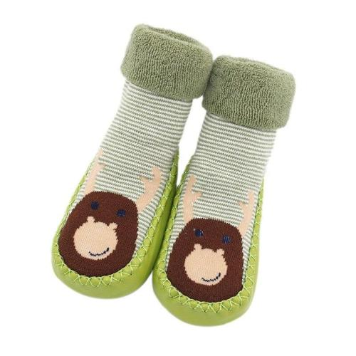 Autumn Baby Anti slip Rubber Soles First Walkers Floor Toddler Socks