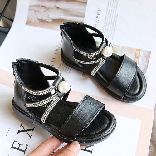 Baby Girl Shoes Toddler Infant Kids Baby Girls Sandalias Summer Roman Crystal Princess Shoes Sandals детская обувь#GH