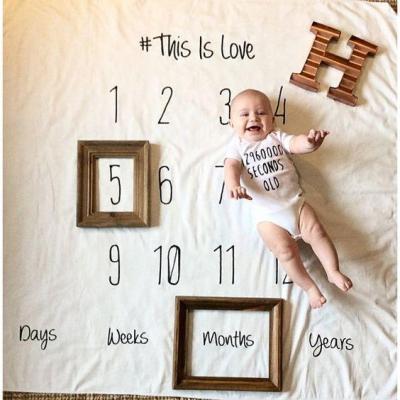 Baby Blanket Cotton Infant Envelope For Newborns Swaddle Stroller Wrap & Bedding Blankets Photography Props Cloth 100*100cm