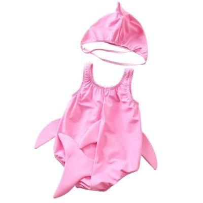 2020 Cute Toddler Kids baby swimwear Girls Boys Cartoon Swimsuit Bikini Swimwear Bathing Suit