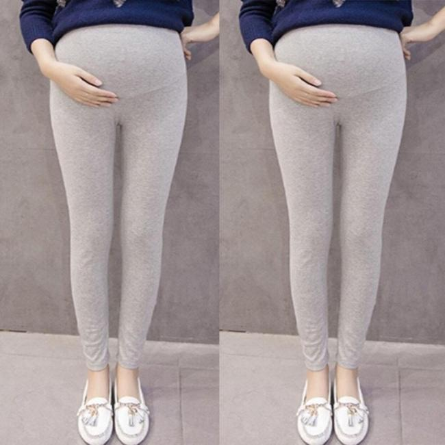 Pregnant Women's Pants Solid Color And Thin Maternity Pregnancy Trousers Womens Maternity Underwear Shapewear