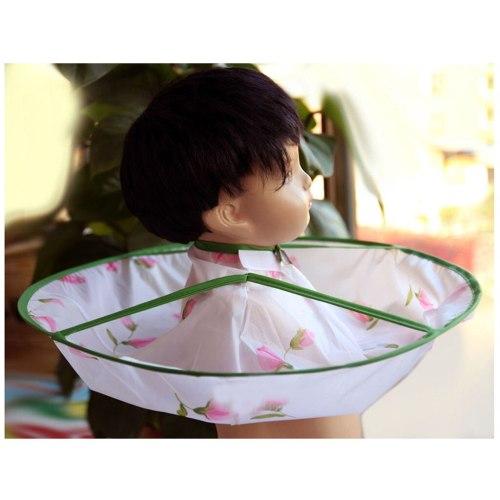 Haircut Gown Apron Kids Boy Hair Cutting Cape Gown  Cloak Umbrella