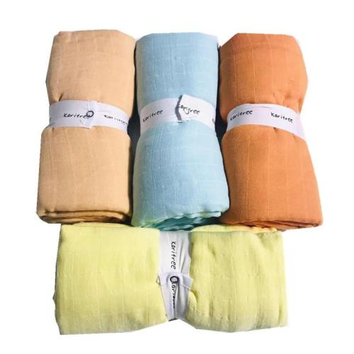 pure 70% bamboo+ 30% cotton baby Swaddle Wraps Cotton Baby muslin Blankets Newborn 100% bamboo  quilt
