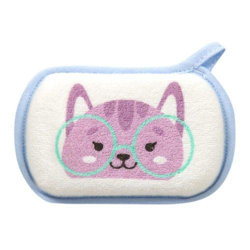 Newborn Baby Kids Boys Shower Bath Sponge Cartoon Body Wash Towel Loofah Bath Shower
