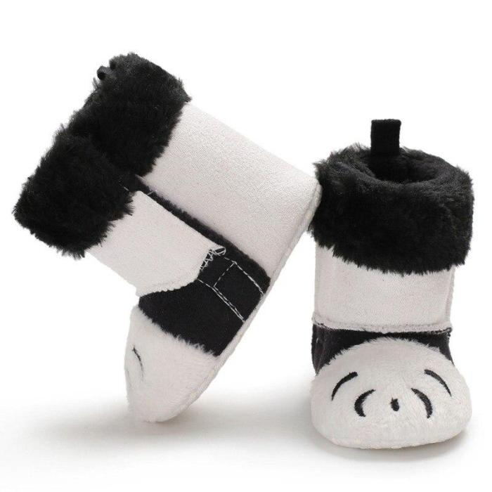 Warm Winter Cartoon Cotton Baby Toddler Boots Cute Leisure Soft Bottom Boots Baby Toddler Boots