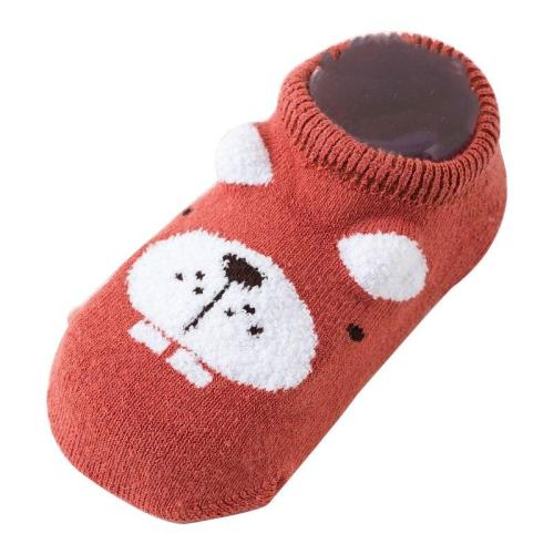 Autumn winter cartoon baby socks Baby steps non-slip  Sole cotton children floor socks baby socks