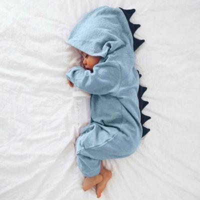 New baby girl clothes Newborn Infant Baby Boy Girl Dinosaur Hooded Romper Jumpsuit Outfits Clothes kids clothes