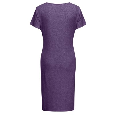 Sexy Maternity Dresses Women Maternity Summer Short Sleeve Casual Sundress Pregnancy Dress Clothes
