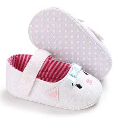 Newborn baby shoes girls Cute Cartoon Cat soft sole comfortable toddler shoes Infant Cotton first walker Cribe Shoe 0-18 M