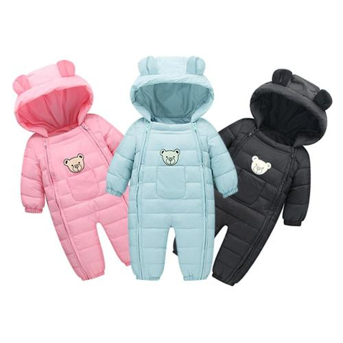 Fashion baby romper Newborn Baby Boys Girls Kids Rompers Winter Thick Cotton Warm Clothes Jumpsuit