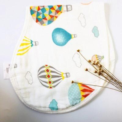 ins 1pcs/ Bamboo Cotton Baby Bibs,Baby Girls boys Bibs & Burp Cloths Baby Clothing Product, Newborns