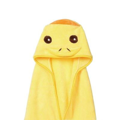 Cute Baby Towel Hooded Bathrobe Soft Infant Newborn Towel Animal Baby Blanket Cartoon Baby Bath Towel
