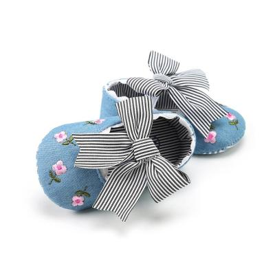 Pudcoco Girl Cribe Shoes Baby Newborn Toddler Girl Crib Shoes Pram Soft Sole Cotton Anti-slip Sneakers