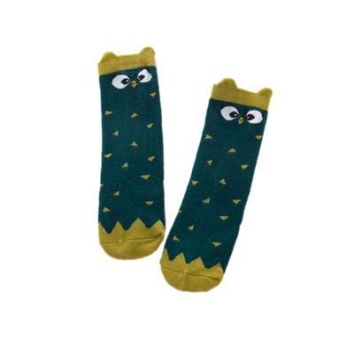 Kids Baby Boys Girls Knee High Stocking Cute Animal Pattern School Cotton Stockings Leg Warmers 0-3T
