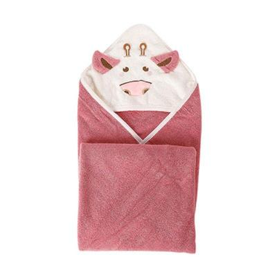 Baby Bath Bathrobe Pure Cotton Kids Cloak Bath Towel Fleece Hooded Infant Towels Blanket Newborn Baby Hooded Towel Infant