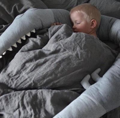 185cm Baby Pillow Children Crocodile Pillow Cushion Toddler Infant Bedding Crib Fence Bumper Kids Room Decoration Toys
