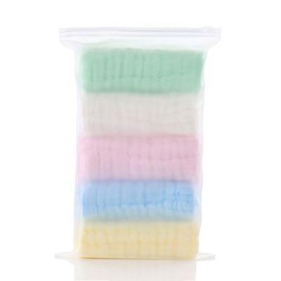 5pcs/lot Baby Handkerchief Square Baby Face Towel 30x30cm Muslin Cotton Infant Face Towel Wipe Cloth