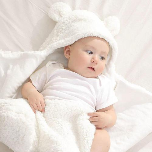 Hot cute baby wrap Newborn Infant Baby Boy Girl Swaddle Baby Sleeping Wrap Blanket new born Photography Prop