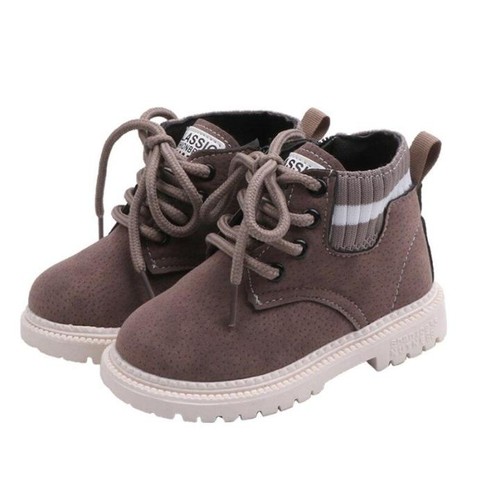 Baby Girls Boys Winter Snow Boots Infant Toddler Plush Boots Martin Boots Soft bottom Non-slip Child Kids Outdoor Cottonshoes