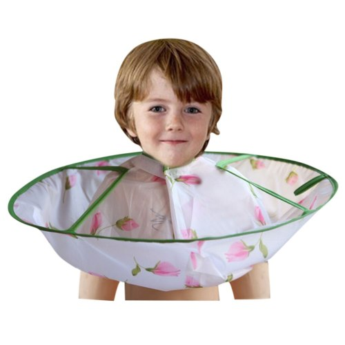 Haircut Gown Apron Kids Boy Hair Cutting Cape Gown Hairdresser Barber Hairdressing Clothes Children Hairdresser Cloak Umbrella