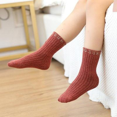 5pairs/Set Kids Socks Cotton Causal Short Socks Solid Children Sock For Girl Boy Children 1-8Y