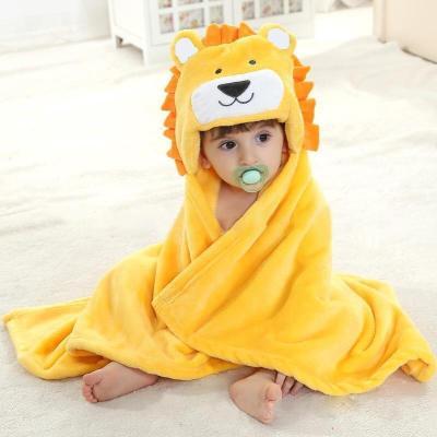 Newborn Hooded Towel Baby Bath Towel for Baby Blanket Kids Poncho Towel Hooded Newborn Stuff for Babies Swaddle Blanket