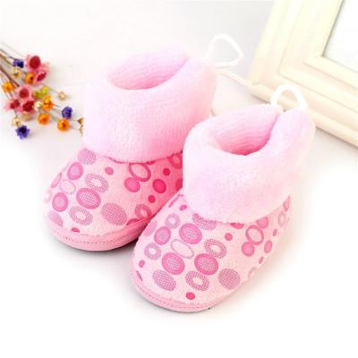Winter Children Boots Thick Warm Shoes Cotton-Padded Suede Boys Girls Boots Boys Snow Boots Kids Shoes