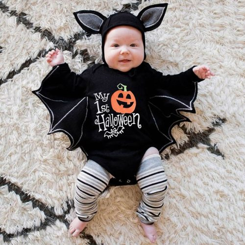 Newborn Baby Boys Girls Halloween Cosplay Costume Romper Jumpsuits