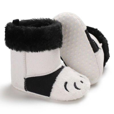 Warm Winter Cartoon Cotton Baby Toddler Boots Cute Leisure Soft Bottom Boots Baby Toddler Boots