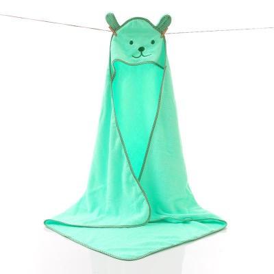Baby Towel Newborn Bath Comfortable Soft Baby Hooded Bathrobe Cute Animal Beach Cotton Towel kids Babies Blanket