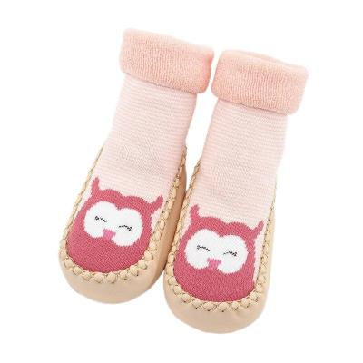 Autumn Baby Boy Girl Socks Anti slip Rubber Soles First Walkers Floor Toddler Socks Fashion Baby Socks