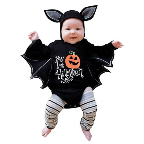 Newborn Baby Boys Girls Halloween Cosplay Costume Romper Jumpsuits