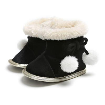 Winter Baby Shoes Boots Infants Warm Shoes Faux Wool Girls Baby Booties Sheepskin Boy Baby Boots Newborn Shoes