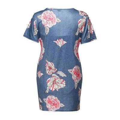 Women Pregnant Short Sleeve Ruffles Floral Tops Breastfeeding Maternity Clothes
