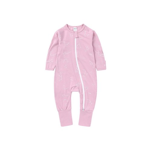 Newborn Baby Girl Cute Bind Foot Romper Jumpsuit Zipper Clothes Infant Baby Kids