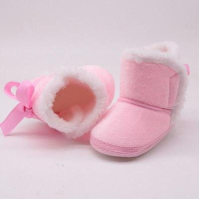 Baby Boots Winter First Walkers Fashion Baby Girls Shoes Fur Snow Warm Boots High Quality shoe warehouse boots