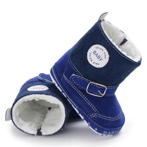 Newborn Baby Winter Boots Infant Toddler Girls Boys Snowfield Shoes Crib Bebe Kids Super Keep Warm Zipper SPORTS Styles Booties