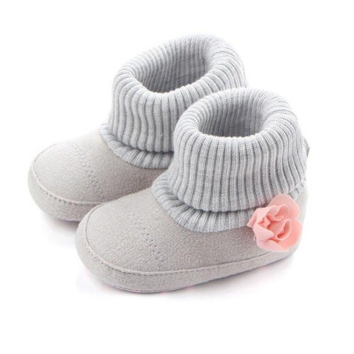 Winter Warm Baby Shoes Autumn  Pram First Walkers Kids Newborn Infant Toddler Super Keep Warm Flower Boots