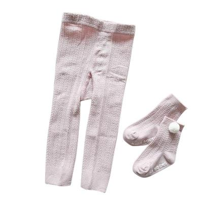Kids Pantyhose Autumn Tights for Girls Stocking Children Cotton Solid Pantyhose For Baby Girls Tights 0-3Y