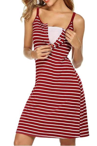 Fashion Pregnant dress Women summer Maternity Nursing Solid Breastfeeding Summer Maternity Dresses