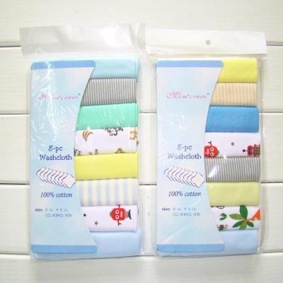 8pcs/pack Cotton Newborn Baby Towels Saliva Towel Nursing Towel Baby Boys Girls Bebe Toalha Washcloth Handkerchief Cloth Wipes