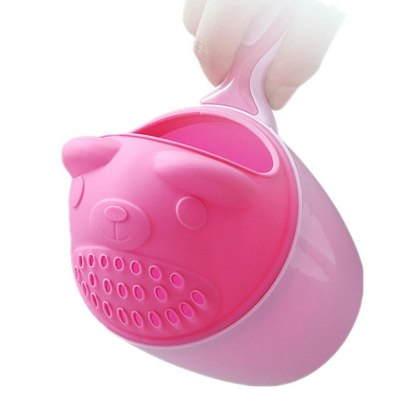 Fashion baby shampoo cup Baby Bath Waterfall Rinser Kids Shampoo Rinse Cup Bath Shower Washing Head czapkal