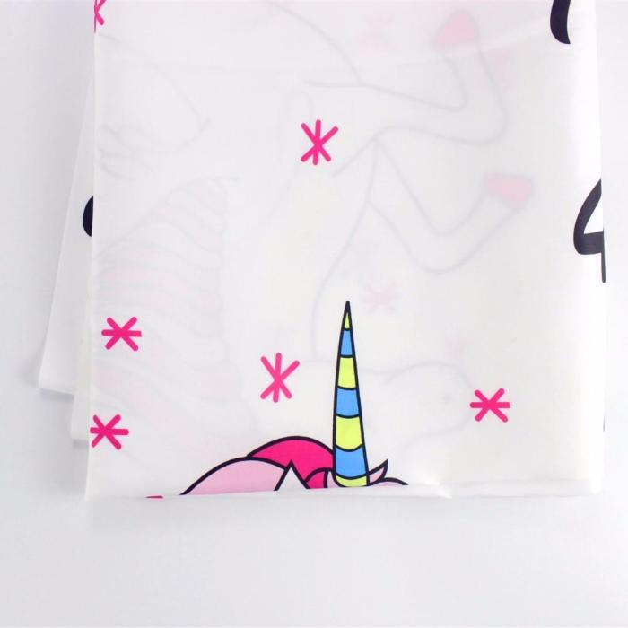 Baby Unicorn Milestone Blanket Photo Photography Props Shoot Monthly Growth Blankets Cartoon Backdrop Cloth 39x47inch