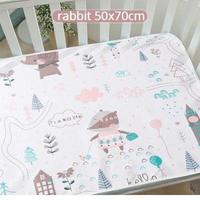 Reusable Baby Changing Mat Cover Baby Diaper Mattress Diaper for Newborn Cotton Waterproof Changing Pads Floor Play Mat