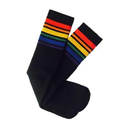 Soft Kids Socks For Girl Boy Clothing Striped Baby Sock Cotton Children Football Socks Causal